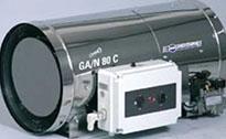 Топловъздушни апарати за окачване за ниско налягане модел GA/N EN